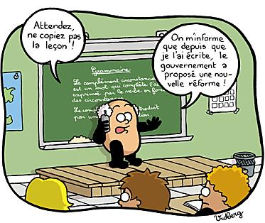 Dessins humoristiques quinquennat sarkozy cgt duc - Grille indiciaire cpe education nationale ...